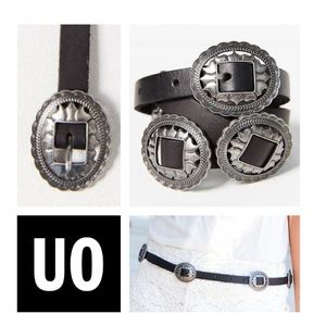 Urban Outfitters Oval Western Belt